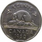 1960 Canadian 5 Cent