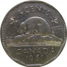 1961 Canadian 5 Cent