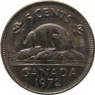 1972 Canadian 5 Cent