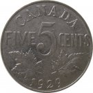 1929 Canadian 5 Cent