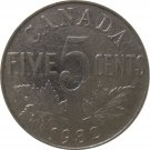 1932 Canadian 5 Cent