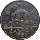 1952 Canadian 5 Cent