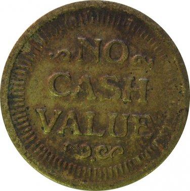 No Cash Value Token #1
