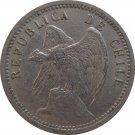 1938 Chile 20 Centavos
