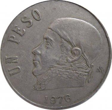 1976 Mexico 1 Peso