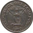 1969 Ecuador 20 Centavos