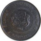 1986 Singapore 10 Cents