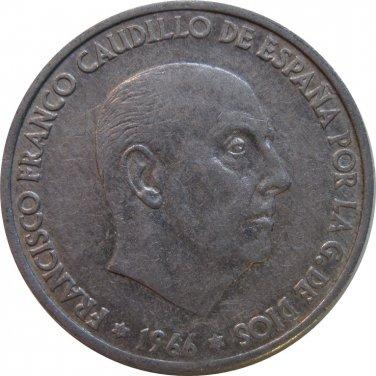 1966 Spain 50 Pesetas