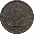 1961 East Caribbean State 10 Cent