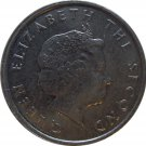 2007 East Caribbean State 10 Cent