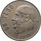 1979 Mexico 1 Peso