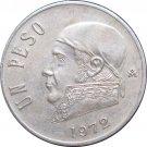 1972 Mexico 1 Peso