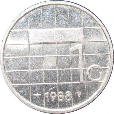 1988 Netherlands 1 Gulden