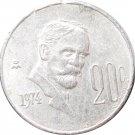 1974 Mexico 20 Centavos