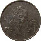 1976 Mexico 20 Centavos