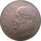 1974 Mexico 1 Peso