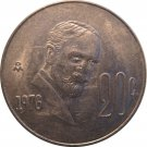 1976 Mexico 20 Centavos #2