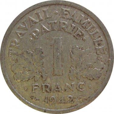 1942 1 Franc #2
