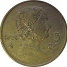 1950 Mexico 5 Centavos