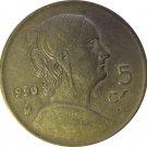 1950 Mexico 5 Centavos  #2