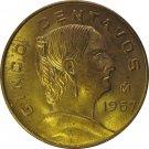 1967 Mexico 5 Centavos