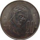 1978 Mexico 20 Centavos