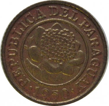1950 Paraguay 1 Centimo