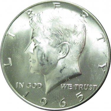 1965 Kennedy Half 40% Silver (dan-20)