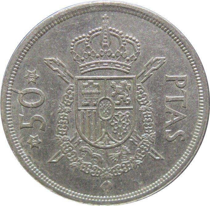 1975 (80) Spain 50 Pesetas