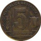 1946 Argentina 5 Centavo