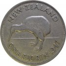 New Zealand, 1947 One Florin