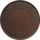 1916 Canadian Large Cent #3