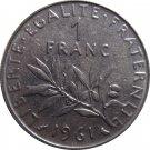 1961 1 Franc #2