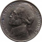 1963 Jefferson Nickel (Whitman)