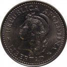 1957 Argentina 5 Centavo