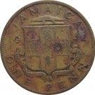 1942 One Penny Jamaica