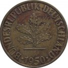 1950 J Germany 10 Pfennig