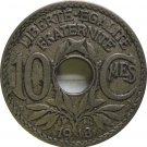 1918 France 10 Centimes