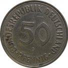 1950 G Germany 50 Pfennig