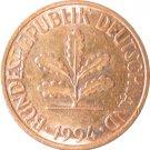 1994 F Germany 2 Pfennig