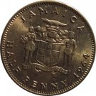 1964 One Half Penny Jamaica