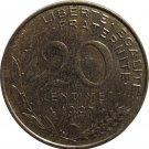 1997 France 20 Centimes