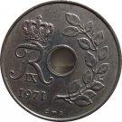 1971 Denmark 25 Ore