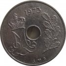 1973 Denmark 25 Ore