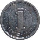 Japan 1995? 1 Yen