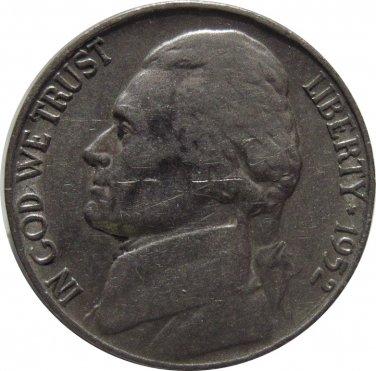 1952 S Jefferson Nickel (Whitman)