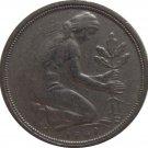 1949 J Germany 50 Pfennig