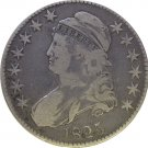 1825 Bust Half