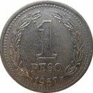 1957 Argentina 1 Peso
