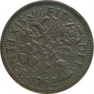 1962 Great Britain 6 Pence